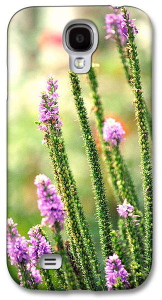 A Lavender Garden Galaxy S4 Case by Chastity Hoff