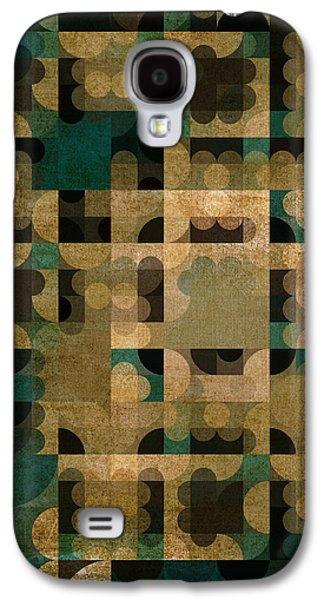 Modern Abstract Digital Art Digital Art Digital Art Galaxy S4 Cases - A Life Well Lived Galaxy S4 Case by Bonnie Bruno