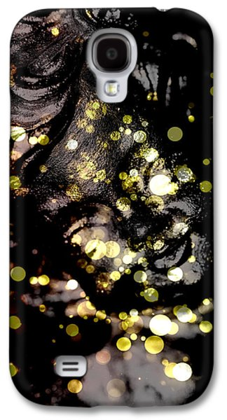 Innocence Mixed Media Galaxy S4 Cases - A little angel statue  Galaxy S4 Case by Toppart Sweden