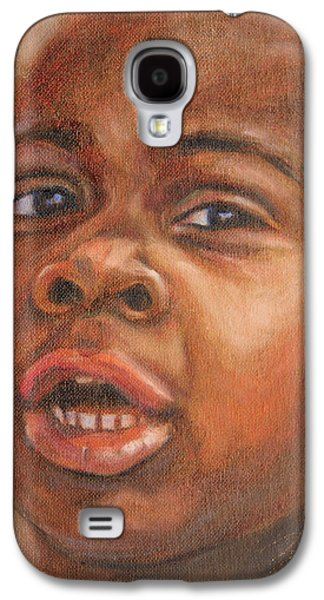 African-american Galaxy S4 Cases - A Little New Yorker Galaxy S4 Case by Xueling Zou