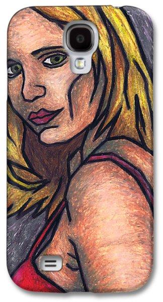 Contemplative Pastels Galaxy S4 Cases - A Look Back Galaxy S4 Case by Kamil Swiatek