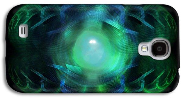 Inner Self Galaxy S4 Cases - A Look Within Galaxy S4 Case by Elizabeth S Zulauf