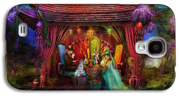 Magical Photographs Galaxy S4 Cases - A Mad Tea Party Galaxy S4 Case by Aimee Stewart