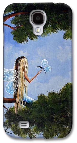 Dreamscape Galaxy S4 Cases - A Magical Daydream Original Artwork Galaxy S4 Case by Shawna Erback