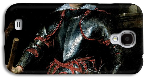 Armor Galaxy S4 Cases - A Man In Armour, C.1621-27 Oil On Canvas Galaxy S4 Case by Sir Anthony van Dyck