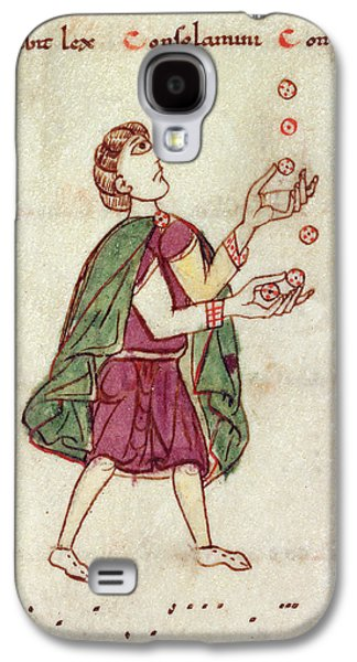 A Man Juggling Galaxy S4 Case by British Library