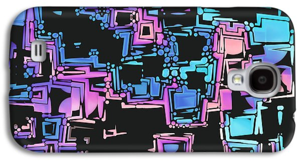 """""""digital Abstract"""" Galaxy S4 Cases - A Maze Zing - 03c01 Galaxy S4 Case by Variance Collections"""