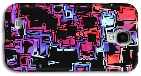 """""""digital Abstract"""" Galaxy S4 Cases - A Maze Zing - 03c07 Galaxy S4 Case by Variance Collections"""