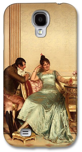Ball Gown Galaxy S4 Cases - A Merry Jest Galaxy S4 Case by Frederic Soulacroix
