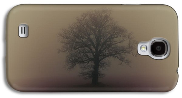 Wintertime Galaxy S4 Cases - A misty morning Galaxy S4 Case by Chris Fletcher