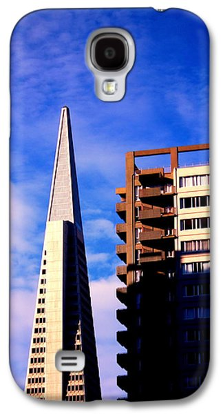 Buildings By The Ocean Galaxy S4 Cases - A Morning Profile of SF Galaxy S4 Case by Nick Busselman