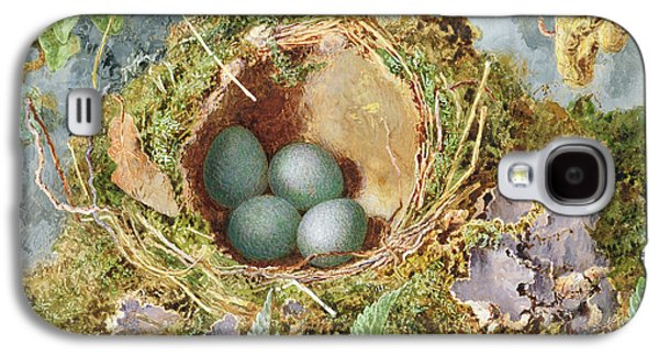 A Nest Of Eggs, 1871 Galaxy S4 Case by Jabez Bligh