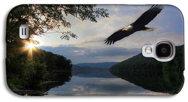 Animals Digital Galaxy S4 Cases - A New Beginning Galaxy S4 Case by Lori Deiter