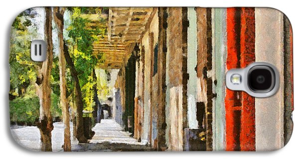 Balcony Galaxy S4 Cases - A New Orleans Alley Galaxy S4 Case by Christine Till