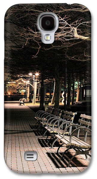 Jogging Galaxy S4 Cases - A Night in Hoboken Galaxy S4 Case by JC Findley