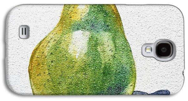 Pears Galaxy S4 Cases - A Pear Galaxy S4 Case by Irina Sztukowski