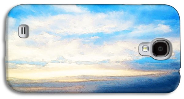 Transportation Mixed Media Galaxy S4 Cases - A Perfect End - Sailboat Art Painting Galaxy S4 Case by Sharon Cummings