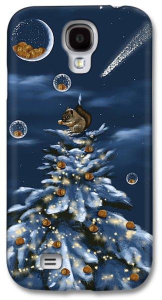 Christmas Art Galaxy S4 Cases - A perfect present Galaxy S4 Case by Veronica Minozzi