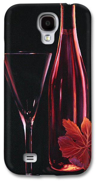 Wine Reflection Art Galaxy S4 Cases - A Prelude to Romance Galaxy S4 Case by Sandi Whetzel