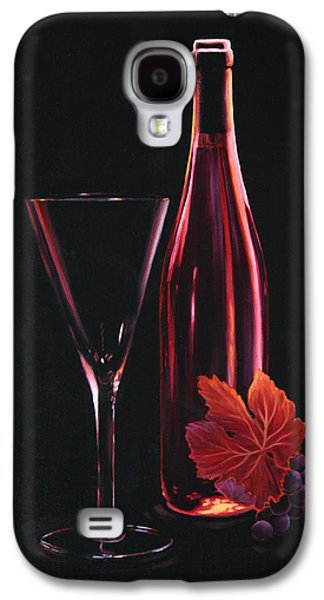 Surrealistic Paintings Galaxy S4 Cases - A Prelude to Romance Galaxy S4 Case by Sandi Whetzel