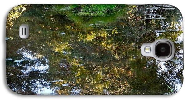 Walden Pond Galaxy S4 Cases - A Quiet Little Pond Galaxy S4 Case by Ira Shander