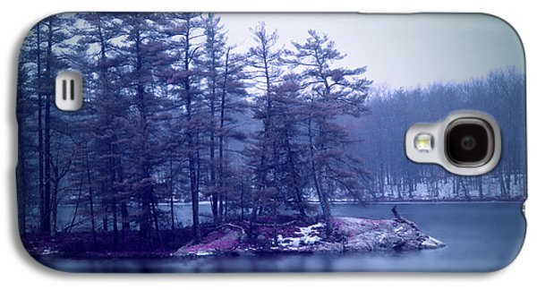 Rural Maine Roads Galaxy S4 Cases - A Quiet River Galaxy S4 Case by Patricia McAtee