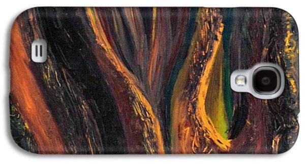 Daina White Galaxy S4 Cases - A Radiant Heart Light Galaxy S4 Case by Daina White