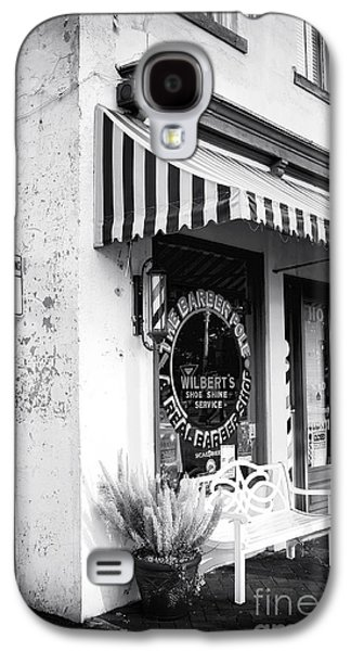 Chatham Galaxy S4 Cases - A Real Barber Shop Galaxy S4 Case by John Rizzuto