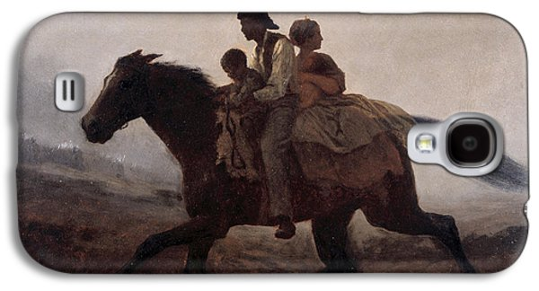 Recently Sold -  - Slavery Galaxy S4 Cases - A Ride for Liberty Galaxy S4 Case by Eastman Johnson