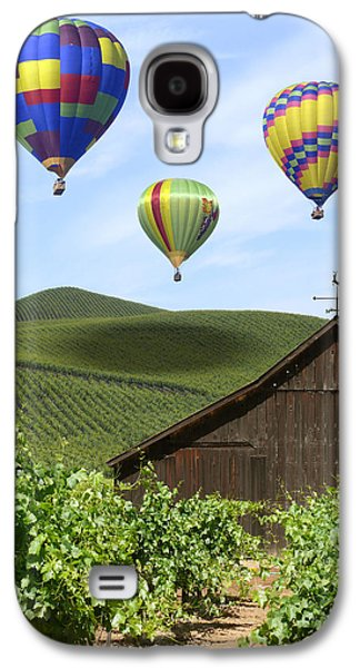 A Ride Through Napa Valley Galaxy S4 Case by Mike McGlothlen