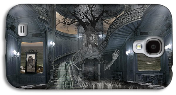 Photo Manipulation Galaxy S4 Cases - A Room within my Mind Galaxy S4 Case by Keith Kapple