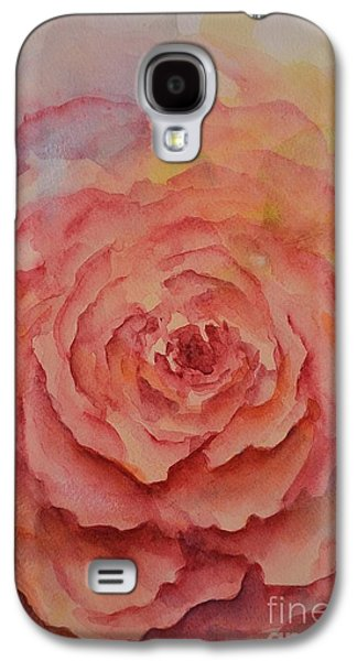 Floral Ceramics Galaxy S4 Cases - A Rose Beauty Galaxy S4 Case by Kathleen Pio