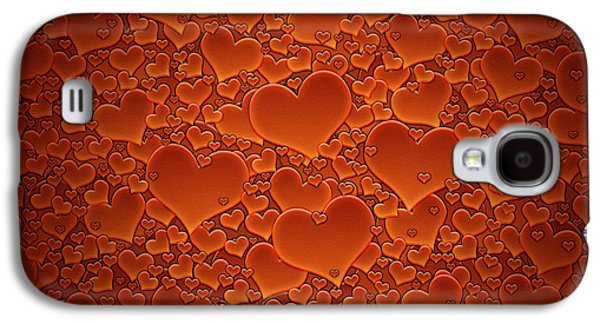 Animation Photographs Galaxy S4 Cases - A Sea of Hearts Galaxy S4 Case by Gianfranco Weiss