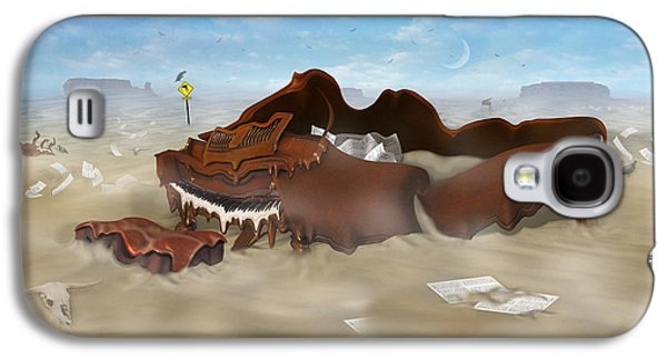 A Slow Death In Piano Valley - Panoramic Galaxy S4 Case by Mike McGlothlen