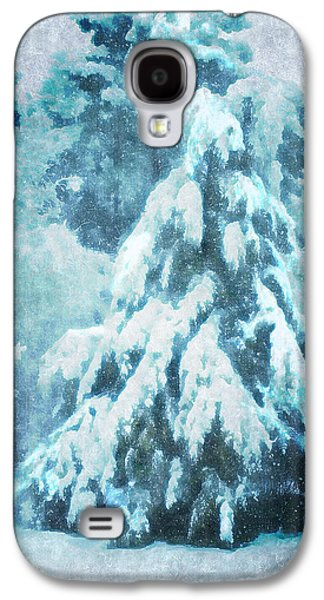 Artography Galaxy S4 Cases - A Snow Tree Galaxy S4 Case by ARTography by Pamela  Smale Williams