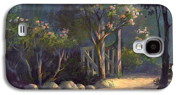 Fence Paintings Galaxy S4 Cases - A Special Place Galaxy S4 Case by Michael Humphries