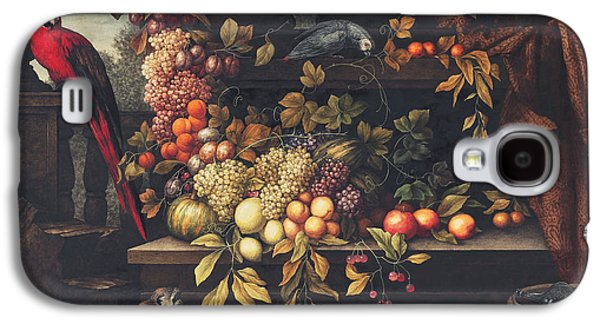 A Still Life With Fruit, Wine Cooler Galaxy S4 Case by David Emil Joseph de Noter
