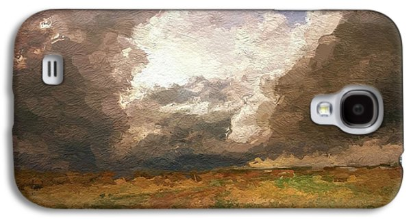 Storm Mixed Media Galaxy S4 Cases - A Stormy Day Galaxy S4 Case by Stefan Kuhn