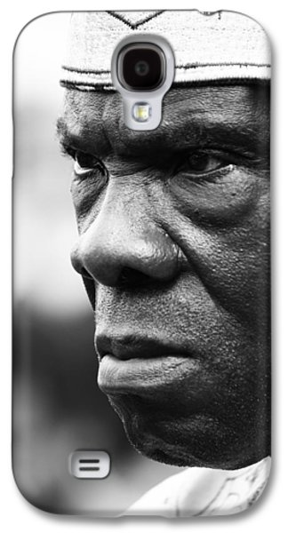 African Heritage Galaxy S4 Cases - A Strong Stare Galaxy S4 Case by Jerry Cordeiro