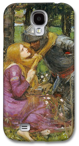 Alluring Paintings Galaxy S4 Cases - A study for La Belle Dame sans Merci Galaxy S4 Case by John William Waterhouse