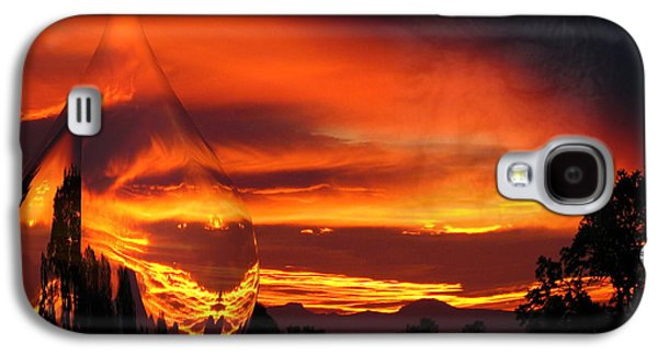 Artography Galaxy S4 Cases - A Teardrop In Time Galaxy S4 Case by Joyce Dickens