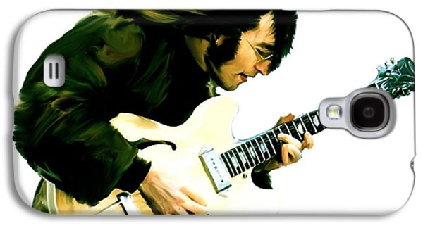 Rocks Drawings Galaxy S4 Cases - A Time It Was III  John Lennon Galaxy S4 Case by Iconic Images Art Gallery David Pucciarelli