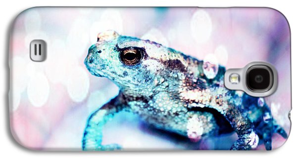 Development Mixed Media Galaxy S4 Cases - A tiny frog Galaxy S4 Case by Toppart Sweden