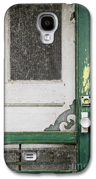 Screen Doors Galaxy S4 Cases - A Touch of Yellow Galaxy S4 Case by Margie Hurwich