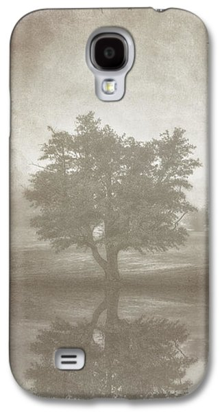 Photo Manipulation Digital Galaxy S4 Cases - A Tree in the Fog 3 Galaxy S4 Case by Scott Norris