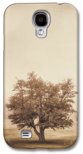 Analog Galaxy S4 Cases - A Tree in the Fog Galaxy S4 Case by Scott Norris