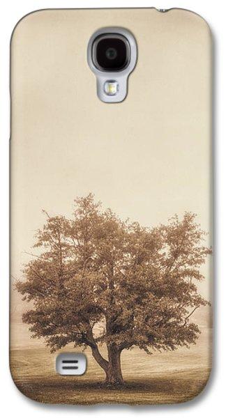 A Tree In The Fog Galaxy S4 Case by Scott Norris