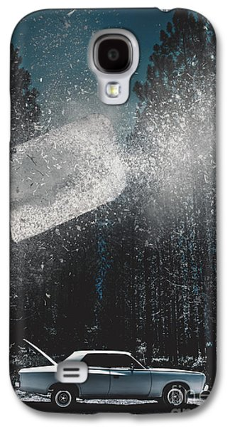 Australian Open Galaxy S4 Cases - A valiant cover up Galaxy S4 Case by Ryan Jorgensen