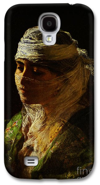Sahara Sunlight Galaxy S4 Cases - A Veiled Beauty of Constantinople Galaxy S4 Case by Celestial Images