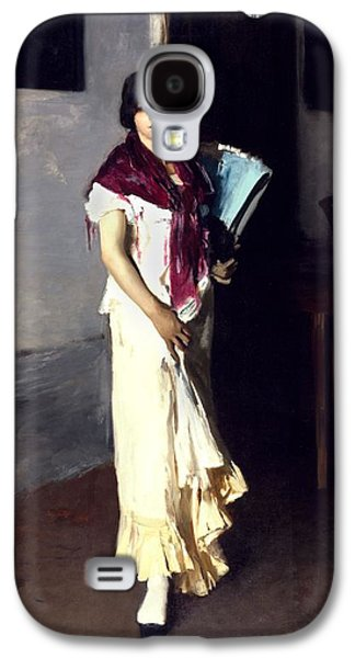Working Class Galaxy S4 Cases - A Venetian Woman, 1882 Oil On Canvas Galaxy S4 Case by John Singer Sargent